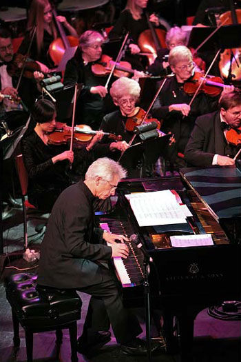 David Benoit performs with the Reading Pops Orchestra